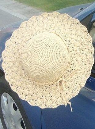 ergahandmade: Crochet Sun Hat + Diagrams