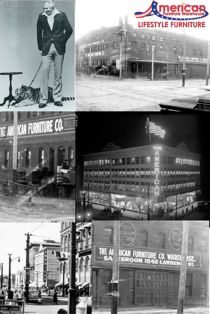 American furniture grand junction co - Throw Back Thursday To The Early Days Of American Furniture