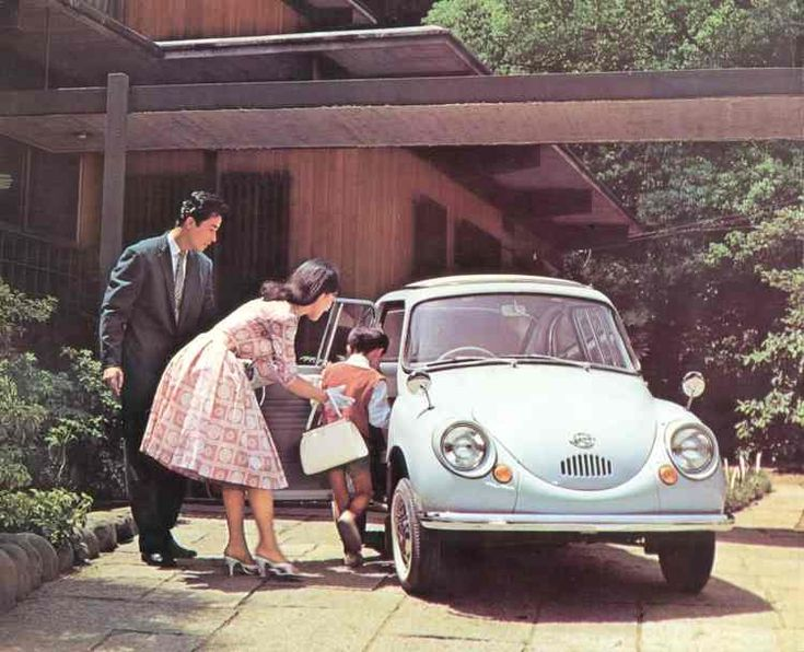 In 1958 the 1st Subaru car was born. The Subaru 360. #MelvilleSubaru #360 #Subaru