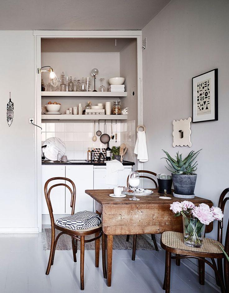 Small home in grey tones, via cocolapinedesign.com