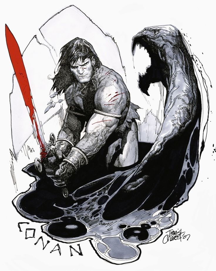 Conan by Travis Charest *