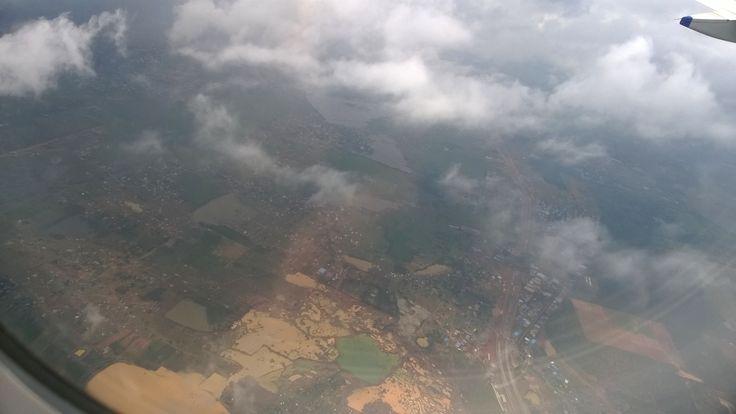 #aerialview #airplane #passingcity   From Chennai to Bombay