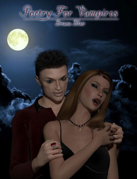 Poetry For Vampires By Briana Blair - Poetry Ebook - BrianaDragon Creations