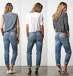 The 501 CT jean are designed to be worn in 3 different ways to suit your individual style. Wear 1-2 sizes smaller for a slim fit. Wear your actual size for a classic boyfriend fit or wear 1-2 sizes larger for a super slouch fit.