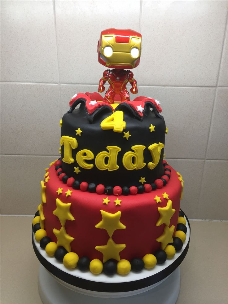 Iron man cake xx