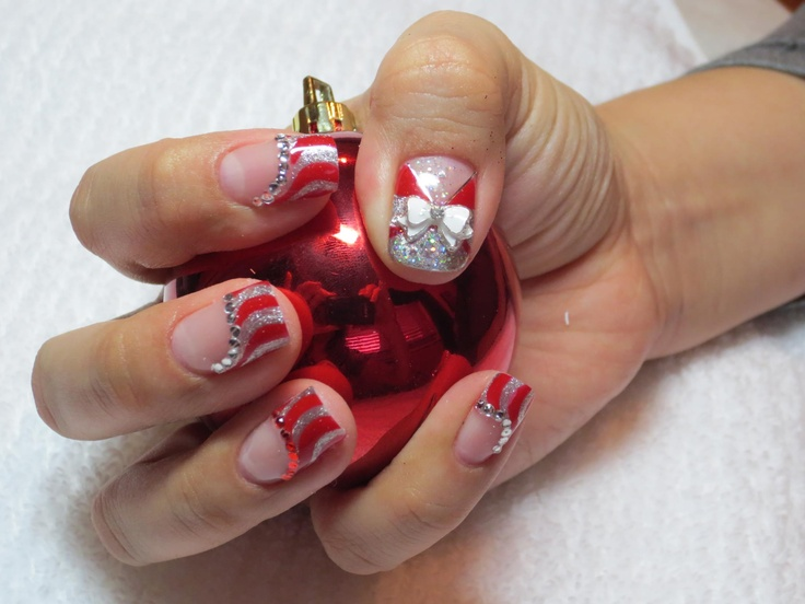 Bio Sculpture Festive Holiday Nail Art By Simplicity by Design
