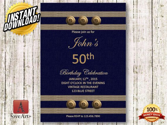 Hey, I found this really awesome Etsy listing at https://www.etsy.com/listing/232919242/istant-download-50th-birthday-invitation