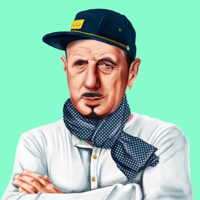 Charles De Gaulle Art Print by Amit Shimoni