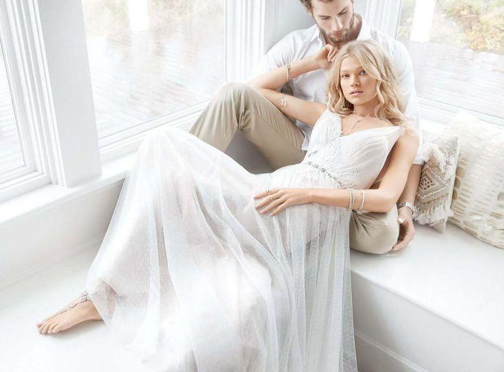 57 besten Boho Wedding Gowns Bilder auf Pinterest | Hochzeitskleider ...