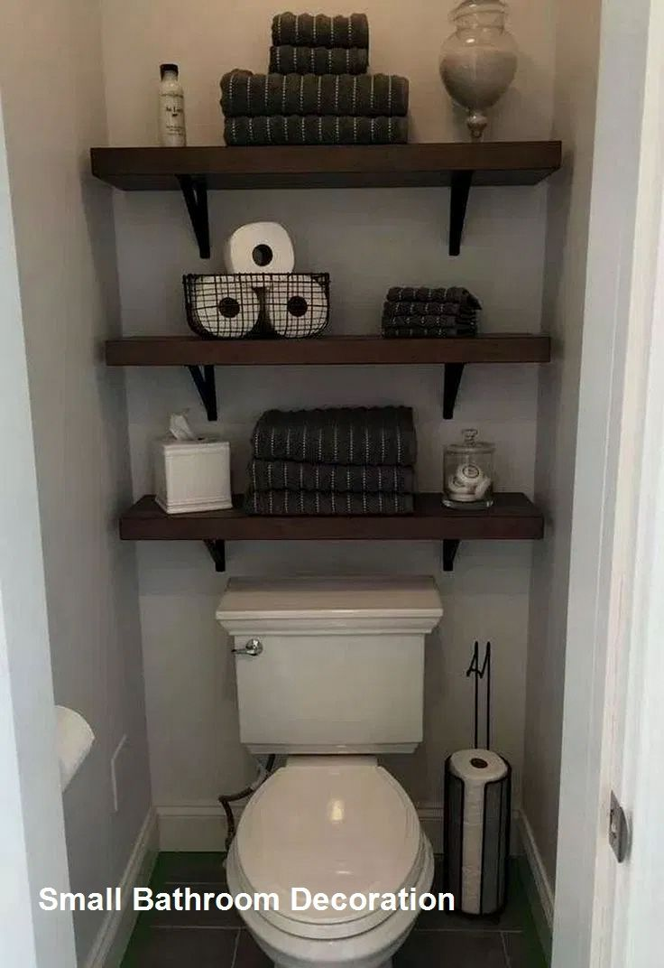 Pin By Alyce Ono On For The Home Small Bathroom Decor Bathroom Decor Downstairs Bathroom