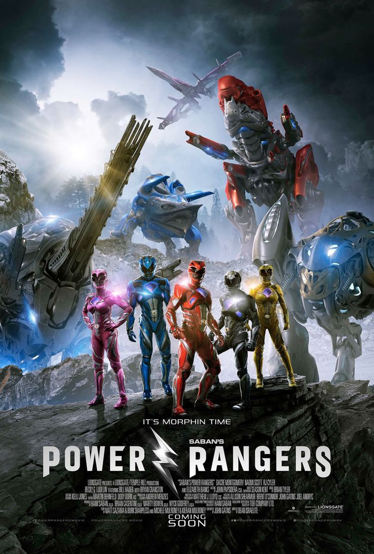 Power Rangers  The latest poster asks you to set your watch to morphin' time.