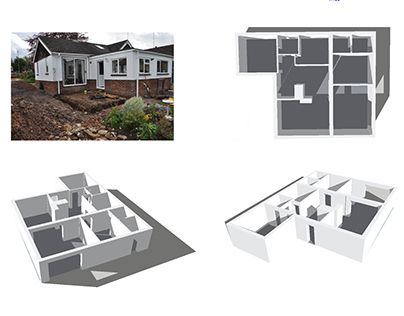 """Check out new work on my @Behance portfolio: """"Farthings, Bungalow Extension"""" http://on.be.net/1ed6iYq"""