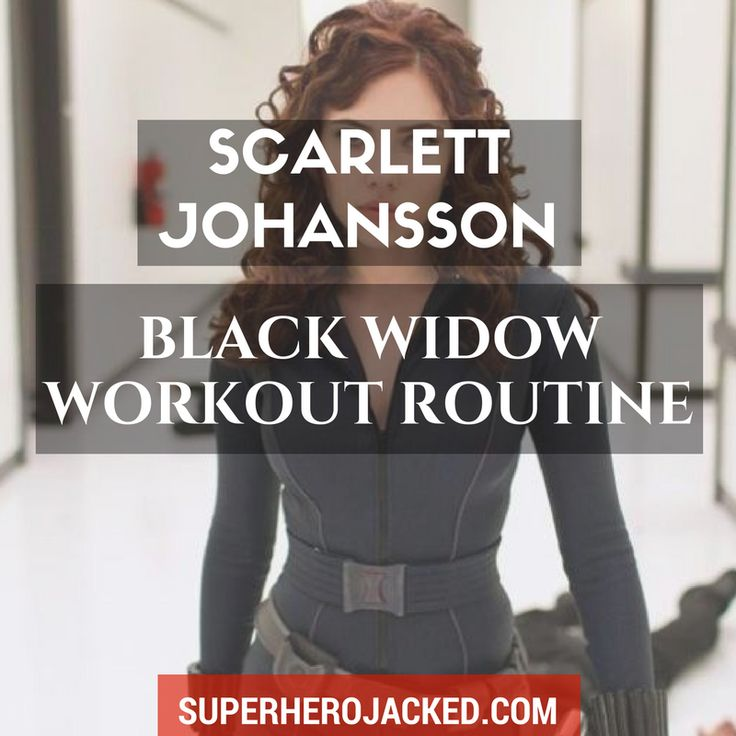 BONUS: Download the FREE Scarlett Johansson Black Widow Workout PDF Shout out to all the ladies in the house!!!! WOOT WOOT! I apologize...can we start over? When utilizing Superheroes to base the workouts from, women sometimes get the sh*t end of the stick.  Obviously this is because there are a do…