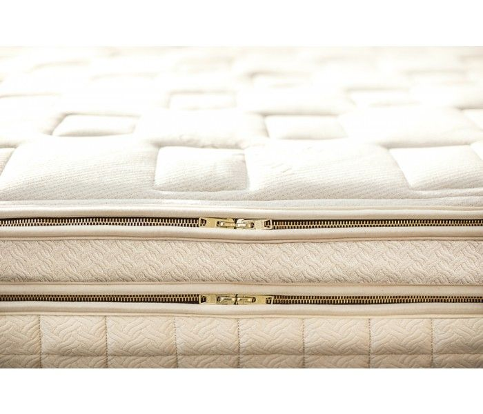 Ask us why our certified organic Luxury Mattresses only feature brass zippers.