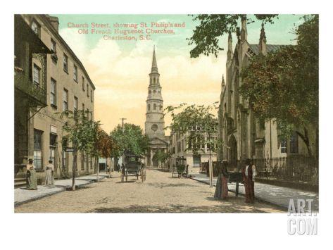 Church Street, Charleston, South Carolina Art Print at Art.com
