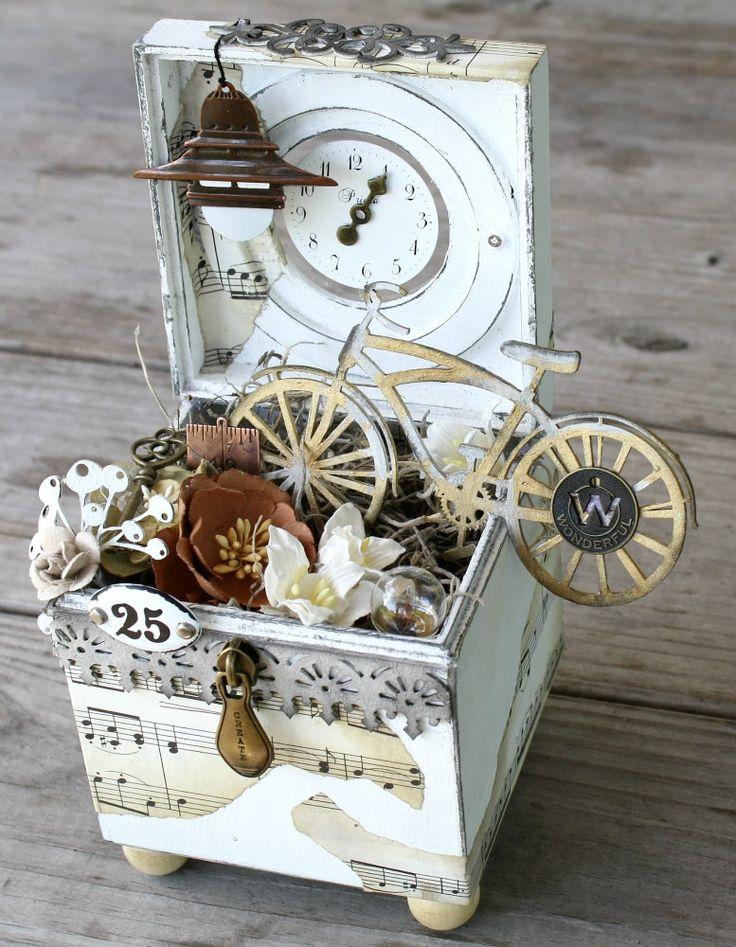 Imaginarium Designs Altered Box - Scrapbook.com
