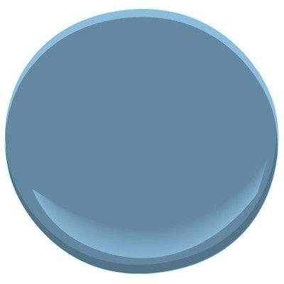 Benjamin Moore Paint - Blue Nose