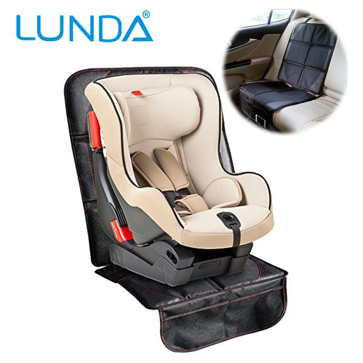 Lato Fotelik Samochodowy Protector Niemowląt Elite Mat-Lepsza Ochrona dla Dzieci i Niemowląt/Doskonała Ochrona Dla Siedzeń Samochodowych