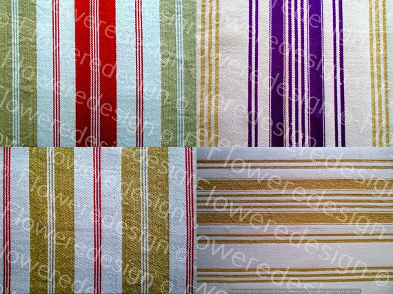 050. Digital ticking stripe fabric antique ticking fabric