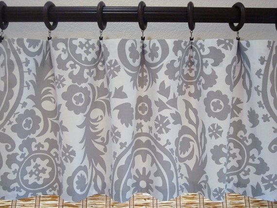 gray valance kitchen curtains custom curtain modern window valances and swags ideas for bay