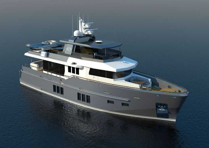 The Bering Steel Yacht 75 | Steel Expedition Yacht