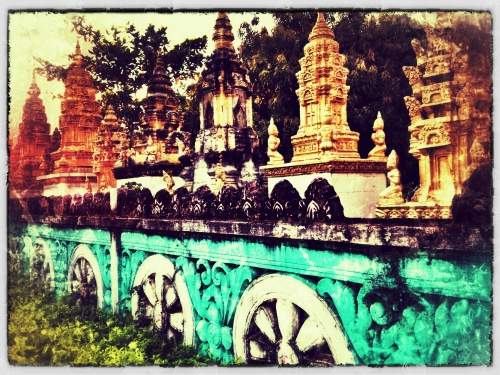 Stung Treng pagoda