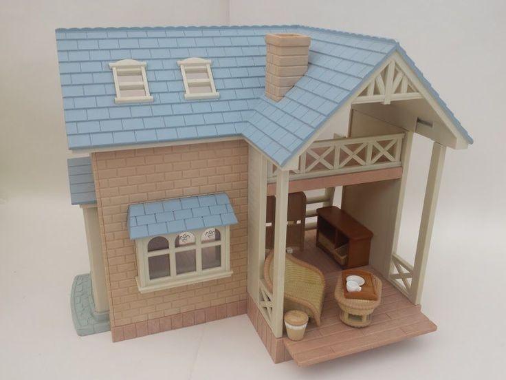 Sylvanian Families Riverside Lodge + Furniture. BUY IT HERE!