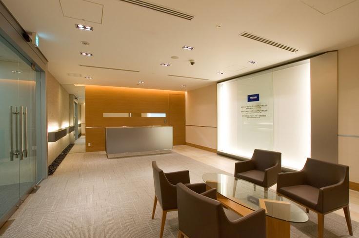 Reception robby Financial Company  企業受付ロビー(金融業)