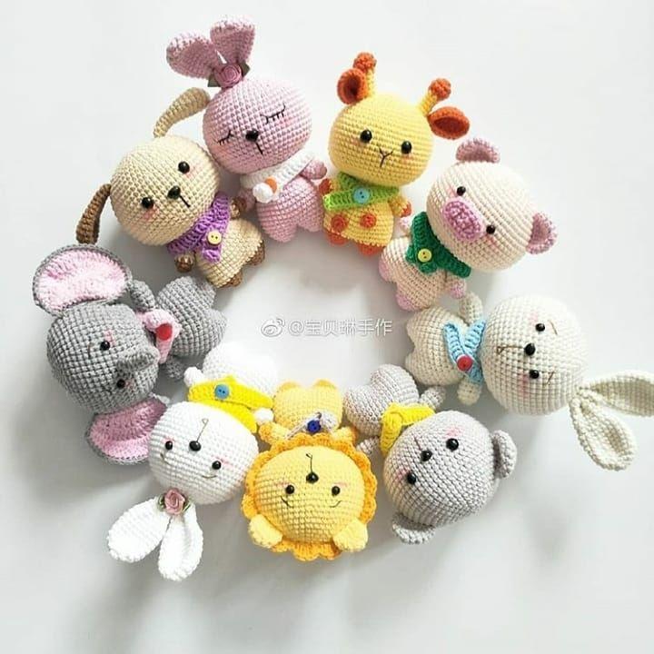 35+ Creative Image of Monkey Crochet Pattern Monkey Crochet ... | 720x720