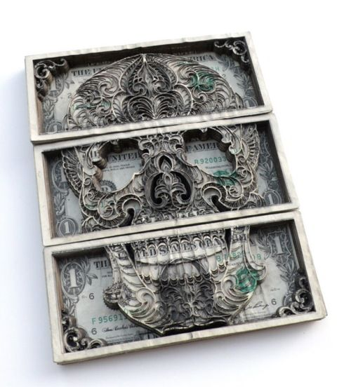 Money Paper Art