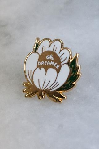 Dreamer lapel pin