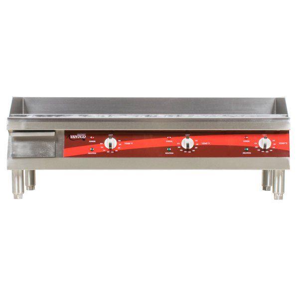 Avantco Eg36n 36 Electric Countertop Griddle Countertops
