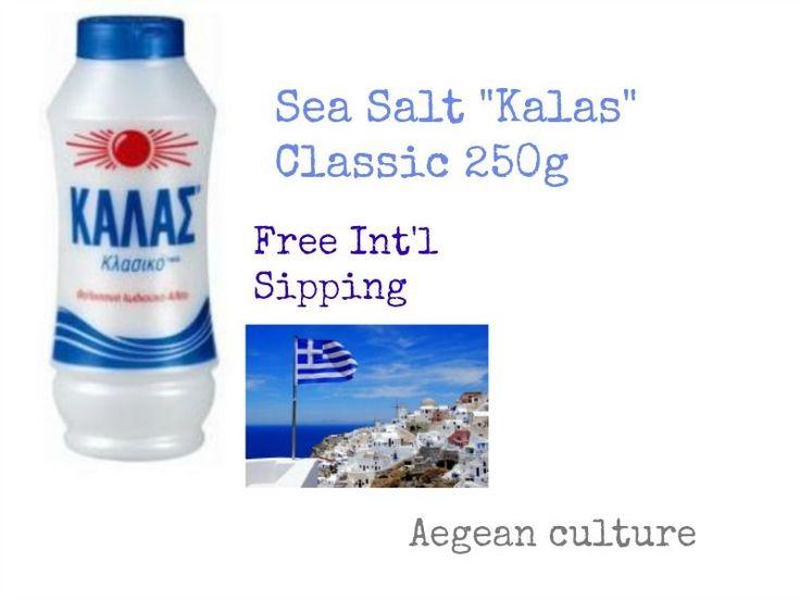 "Sea Salt ""Kalas"" Classic 250g #KALAS"