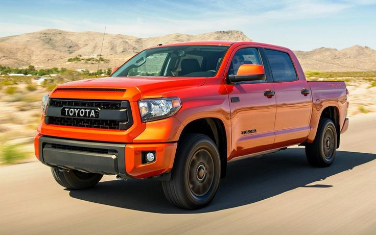 2014 Toyota Tundra Double Cab Specs Reviews - http://car.fooddesigns.net/2014-toyota-tundra-double-cab-specs-reviews/ : #Toyota 2014 Toyota Tundra Double Cab is one favorite pickup truck that reliable in performance. MPG up to 16 city, 20 highway, towing capacity 4,500 to 10,200 lbs, body length 79.2″ and dimensions 229-248″ L x 80″ W x 76″ H are for sure wonderful. MSRP from $27,090 that indeed...