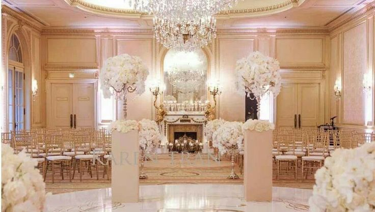 Beauty ivory wedding decor love this pinterest for All white wedding decoration ideas