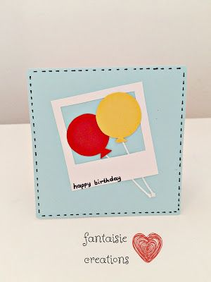 "Fantaisie Creations: Κάρτα ""happy birthday"""