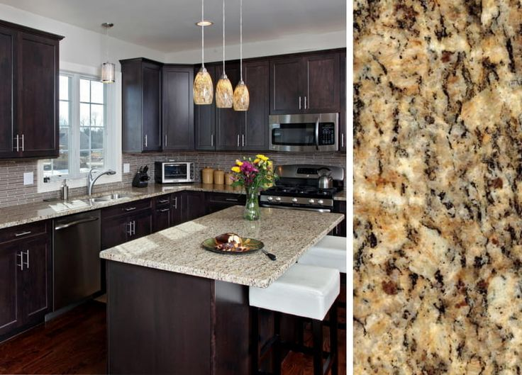 How To Pair Countertop Colors With Dark Cabinets In 2019