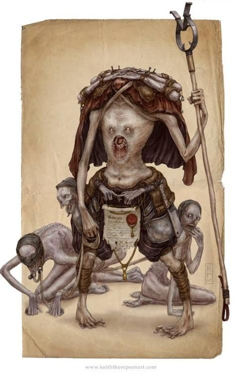 Character Design Techniques Keith Thompson : Best concept art creature images on pinterest