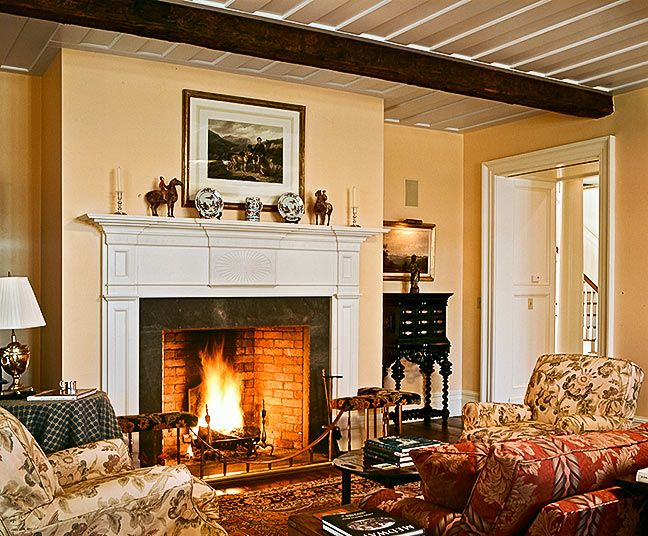 colonial living room colonial style pinterest