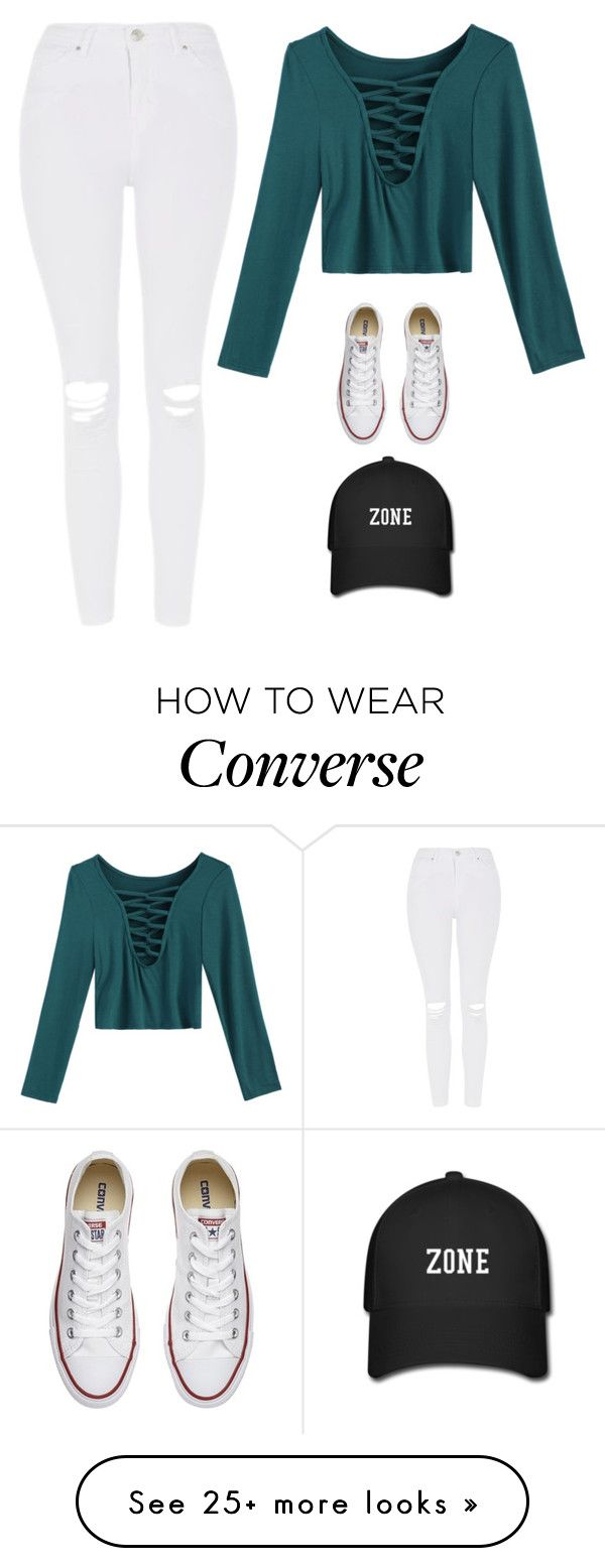 """Untitled #3363"" by twerkinonmaz on Polyvore featuring Topshop and Converse"