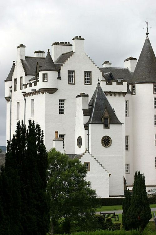 Blair Castle ~ Perthshire, Scotland