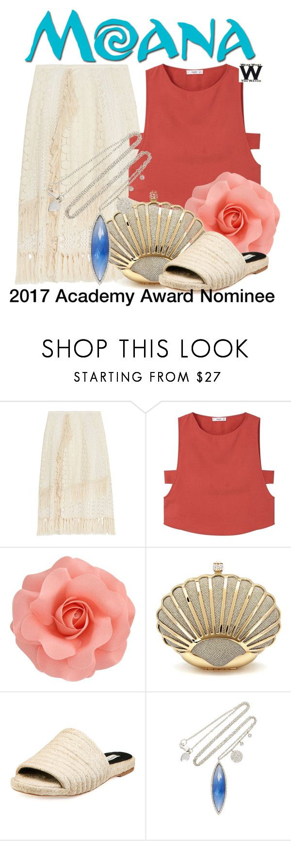 """""""Moana - 2017 Academy Award Nominee"""" by wearwhatyouwatch ❤ liked on Polyvore featuring See by Chloé, MANGO, Balenciaga and Meira T"""