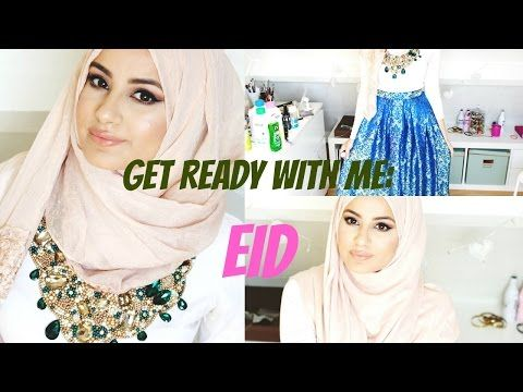 Easy Hijab Styles For Weddings and Eid | Hijab Tutorial | Hijabhills - YouTube