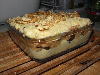 Fitness as a lifestyle ♥: Jahelník s jablky, švestkami a ořechy