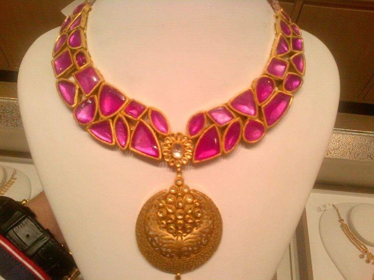 Awesome design... Best ruby necklace