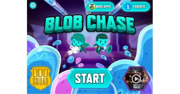 Odd Squad: Blob Chase App Review