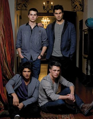 Teen Wolf Men. Seriously,this obsession is getting completely out of control.... I regret nothing except everything lol #teen #wolf