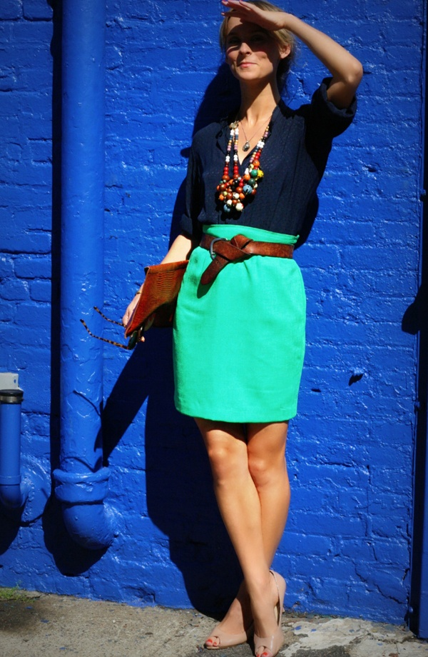 skirt + necklace =love