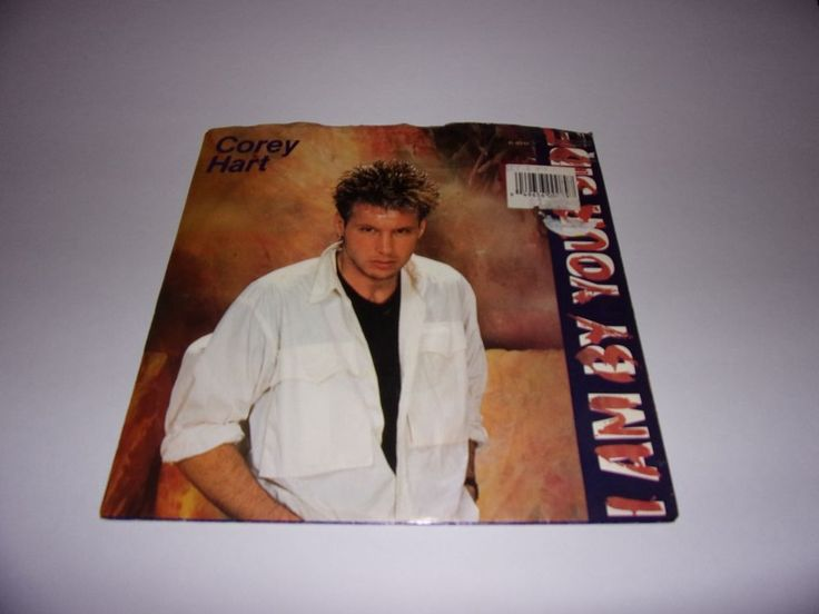 """45"""" Corey Hart: I Am By Your Side / Political Cry / 1986 / W / PS #1980sPopRock"""