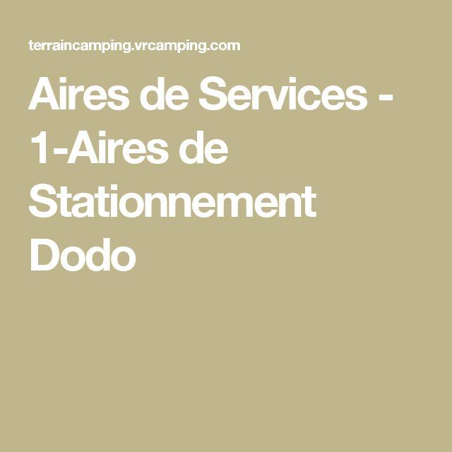 Aires de Services - 1-Aires de Stationnement Dodo